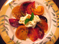 heirloom tomato salad (c)2006 AEC