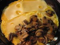 mushroom swiss omelette (c)2006 AEC