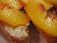 peach bruschetta (c)2006 AEC