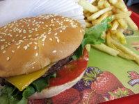 burgerville burger (c)2006 AEC