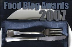 Food Blog Awards 2007