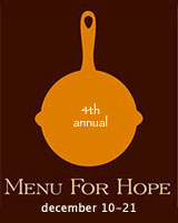 Menu for Hope IV